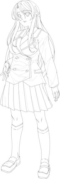 小峰ミユキ 全身画 没案