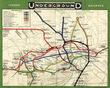 ロンドン1908年路線図