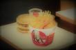 某ハンバーガーとチキン