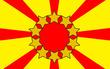 十星太陽旗