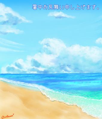 海イラスト・背景