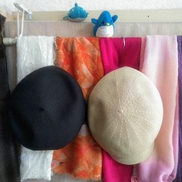 アデリーとジンベーと帽子