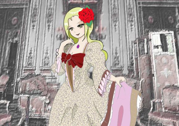 公爵の第三妾アーニャ