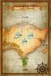 トラモント黄皇国地図
