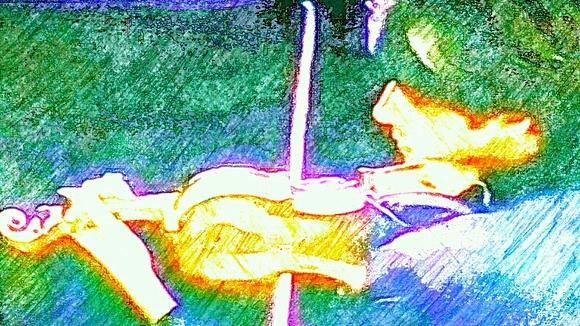 「胡桃の中の蜃気楼」石造りの壁の中8 挿絵