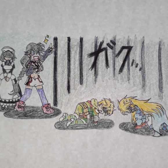ガックリ……orz