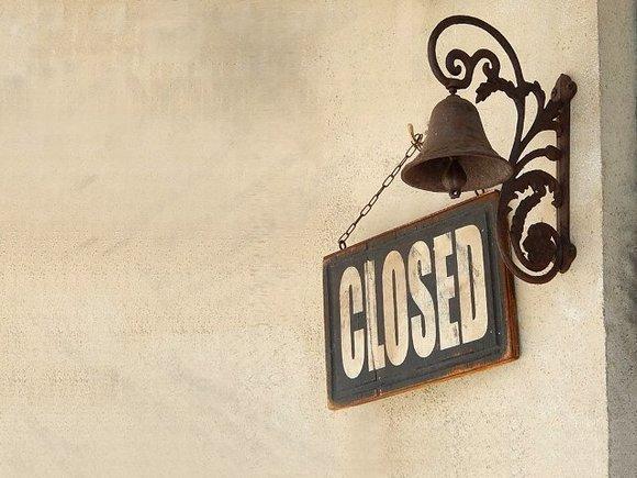 【フリー素材】closed横