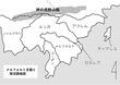 メルフォルト王国と周辺地図