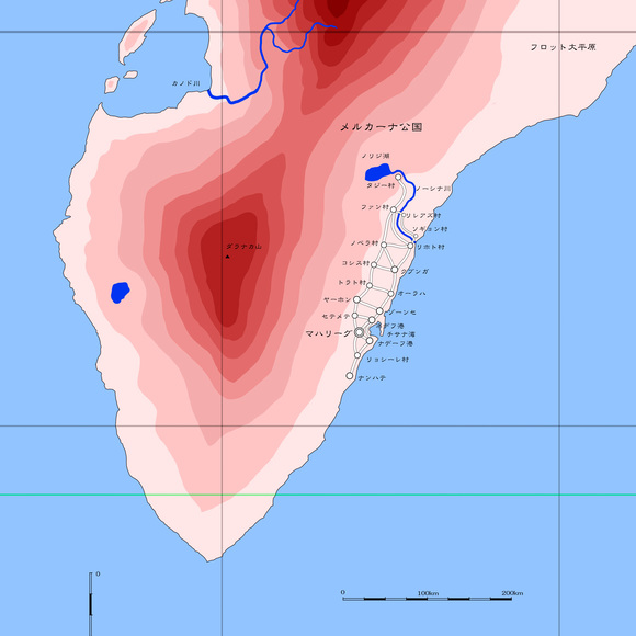 パンドア大陸部分