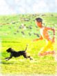 犬と少年のパラダイス