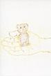 童話『小さなくまの自慢話』の挿絵