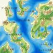 「行き先不明の御一行!」世界地図02