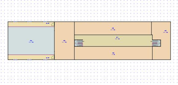 遺跡の町(仮称)・騎士団庁舎(建築中)06 2階・間取り図