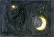 詩集 『夢見がちな魚』の第16回の挿絵