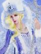 雪の女王は戦馬と駆ける ファンアート