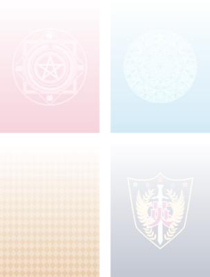 【英雄学園】カード風素材1(背景)