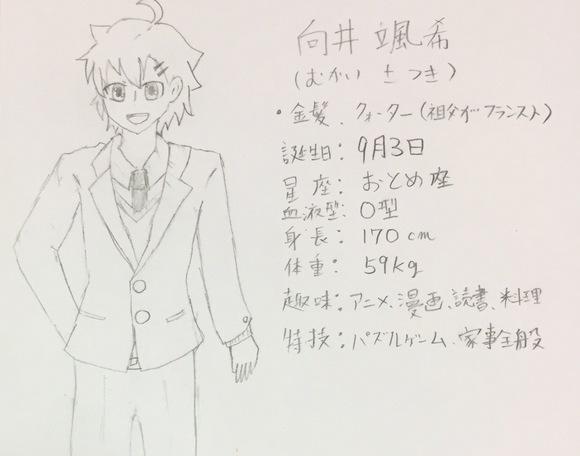 創作子2(オリジナルBL挿絵)