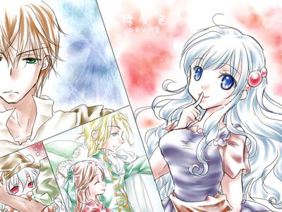 【線×色】人魚姫(線画:たま さま)