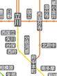 府中本町周辺路線図