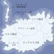 ファルターナ大陸|地図