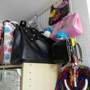 アデリーとジンベーとバッグ