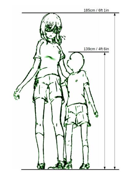 身長差二人三脚2