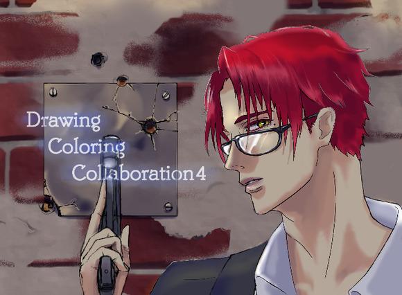 【線画×彩色◆コラボ祭Ⅳ】まうすさんの線画