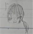 小説挿絵11-リッジラップの顔(驚)