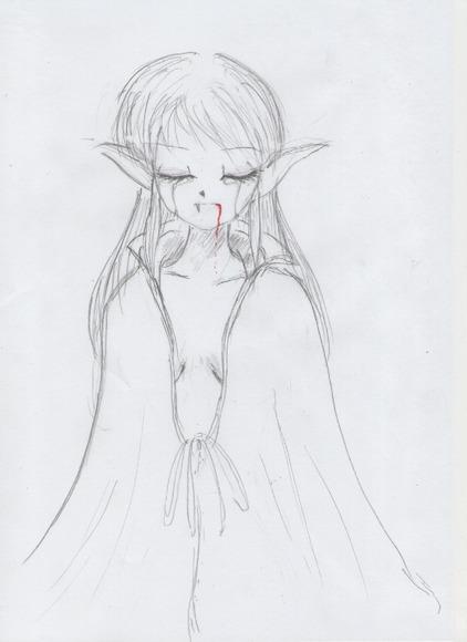 吸血鬼×女の子