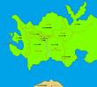リメリア王国周辺地図