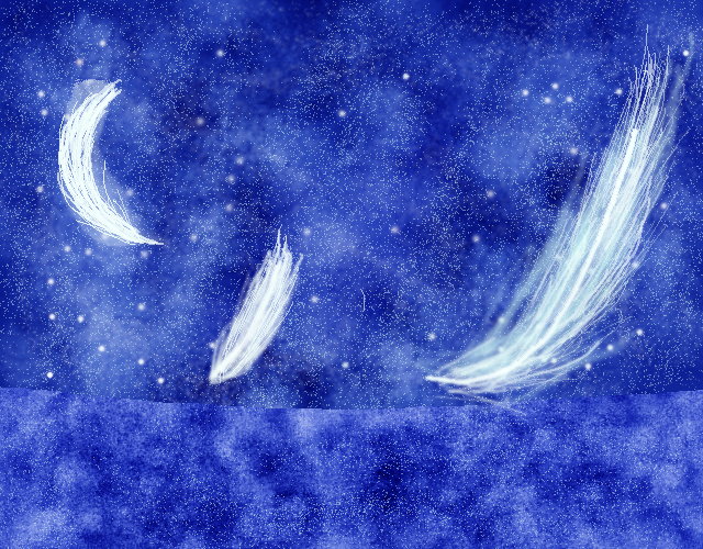 氷晶雲様 海・星・はね