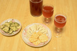 手汲みワインとチーズ
