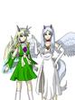 ウロボラズ外伝1 竜の仮面よりスピネル&クリュ(擬人化)