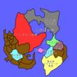 【なろう】「擬人化魔人と行く異世界旅」の世界地図
