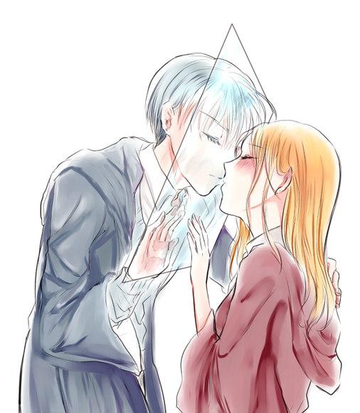 氷越しのキス