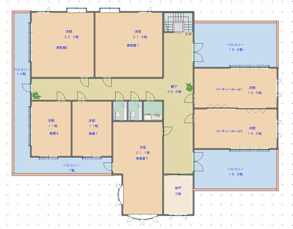 第2章・番外編用の図面・遺跡施設3階