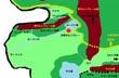 このKissは、嵐の予感。ゼルフォーラ王国の西側の地図
