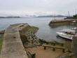瀬戸の小さな漁港