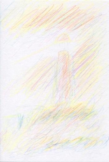 詩集『夢見がちな魚』の第23回の挿絵(その2)