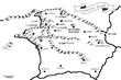 イラストリア地区ダンジョン分布図