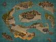 ハイルランド大陸地図