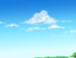 白骨街道の雲