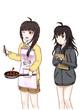 ヤマトニカ・ワールド設定資料 赤羽春乃&沙結イメージ画(再)