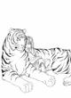 【線画×彩色◆コラボ祭Ⅱ】参加線画『午睡』