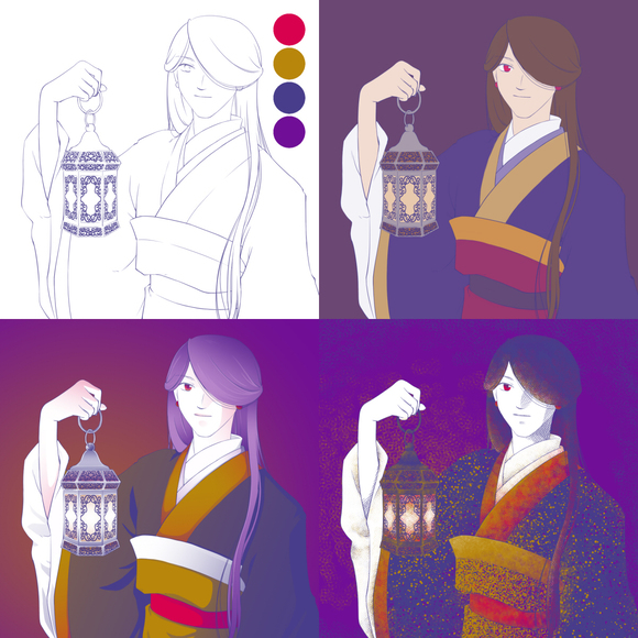 【お題DEイラスト企画】イロイロ