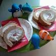 アデリーたちとロールケーキ