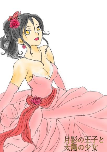 月影の王子 ローズドレス(淡いピンク)