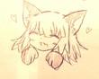 美久里ちゃんの猫耳