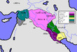 古アッシリア帝国勢力図