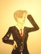 陽葵さんスーツ姿